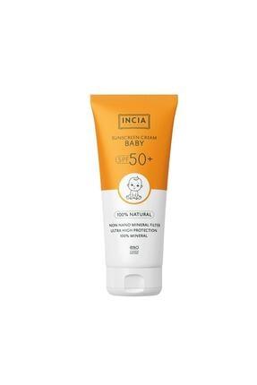 Incia Sunscreen Face And Body Cream Spf50+ Baby 100 Ml