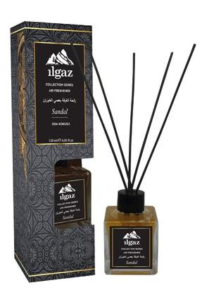 ILGAZ Collection Sandal Oda Kokusu Bambu Çubuklu Oda Parfümü Kalıcı 120 ml Sandal Ağacı Oda Kokusu