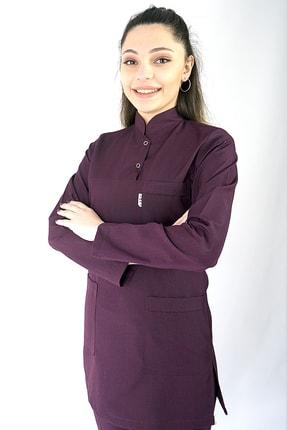 İmaj Medikal Giyim Alpaka Mevsimlik Kumaş Hakim Yaka Iki Çıtçıtlı Tesettür Hemşire Doktor Forma Takımı