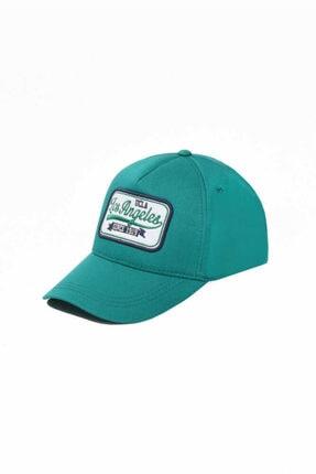 UCLA Joshua Yeşil Baseball Cap Nakışlı Şapka