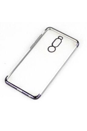 Meizu Note 8 Kılıf Yumuşak Şeffaf Silikon Kenarları Boyalı Tam Koruma