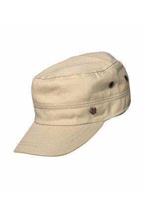 extrasepetim Erkek Yıldızlı Bej Castro Kasket Şapka Kep