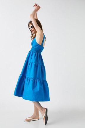 Koton Kadın Turkuaz Elbise 1YAK82125UW