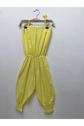 Pitti Kız Çocuk Sarı Tulum 9238