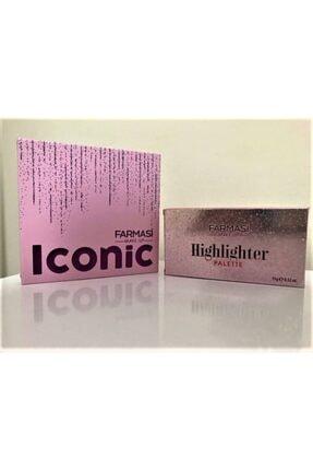 Farmasi Iconic Göz Farı Paleti - Highlighter Makyaj Seti