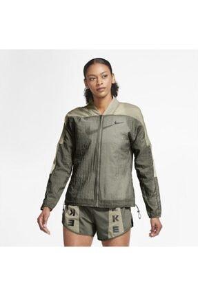Nike Icon Clash Running Kadın Ceket - Yeşil