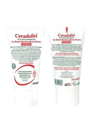 Ceradolin Parfümsüz Su Bazlı Nemlendirici Krem Doğal Shea Yağı Ve E Vitamini 50 ml