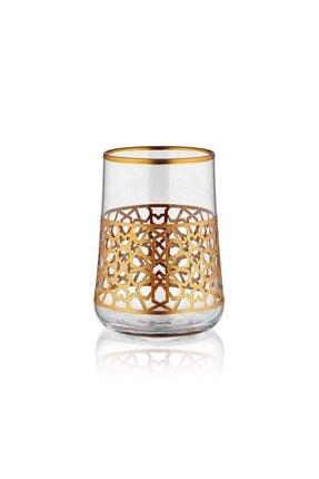 Koleksiyon1 Aheste Kahve Bardak Set 6lı Yıldız Altın Parıltılı