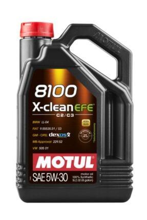 Motul 8100 X-clean Efe 5w-30 5lt