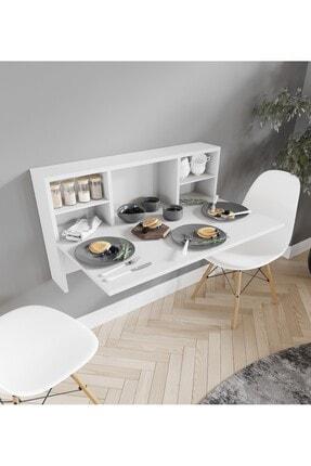 intarz Raflı Katlanır Mutfak Masası