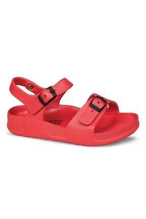 Ceyo Aquaflex Filet Anatomik Çocuk Sandalet-kırmızı