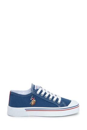 U.S. Polo Assn. Mavı Kadın Sneaker