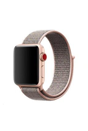 Apple Watch 42 Mm Hasır Kordon Kayış No12 Renk + Popsocket