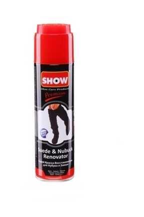 SHOW Siyah Süet Nubuk Sprey Boya 250 ML. SH5678