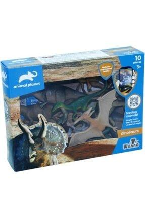Animal Planet Oyuncak Dinazor Hayvan Seti 10 Parça Kutulu Dinozor