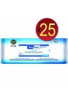 Bluewhite Antibakteriyel Perine Bölgesi Vücut Temizleme Havlusu 25 Adet