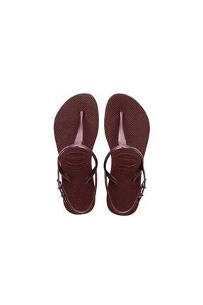 Havaianas Kadın Bordo Sandalet 4144756-4924