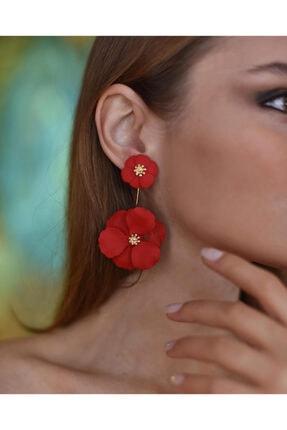 Takınak Çiçek Küpe