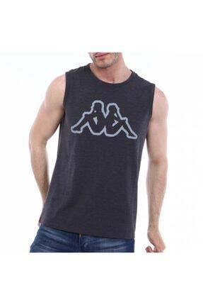 Kappa Kolsuz T-shirt Dwal Antrasit