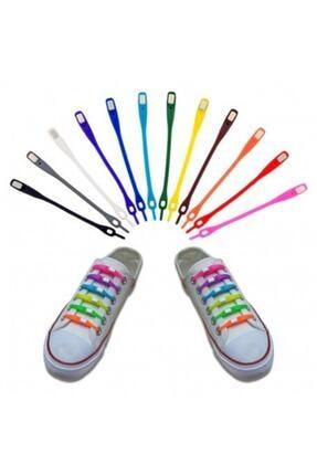 Yenigeldi Silikon Ayakkabı Bağcığı, Elastik Ayakkabı Bağcığı, Yeni Nesil Ayakkabı Bağcığı 24'ü