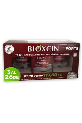 Bioxcin Forte Şampuan 300 ml  3 Adet Serum