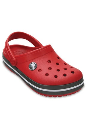 Crocs Kids CROCBAND KIDS Koyu Kırmızı Unisex Çocuk Terlik 100528630