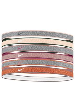 Nike N0003179-090 Heathered Saç Bandı 6 Lı Paket
