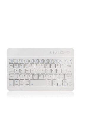 Universal Bluetooth Wireless Q Klavye Tüm Telefon Tablet Macbook Pc Için Uygun Klavye