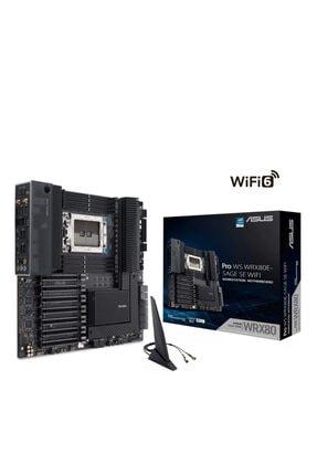 ASUS Pro Ws Wrx80e-sage Se Wıfı Ddr4 M2 Pcıe Nvme Pcıe 16x V4.0 Swrx8 E-atx