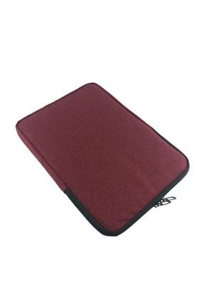 Beutel Unisex 13-13.3-14 Inç Uyumlu Su Geçirmez Macbook Kılıf Notebook Laptop Çantası - Kd- Bordo
