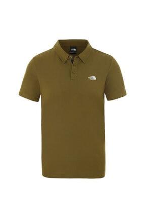 THE NORTH FACE M TANKEN POLO Yeşil Erkek Kısa Kol T-Shirt 100576726