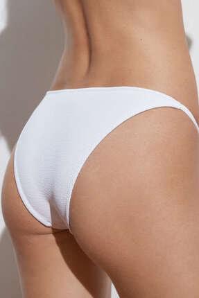 Oysho Geri Dönüştürülmüş Rib Bantlı Brezilya Modeli Bikini Altı