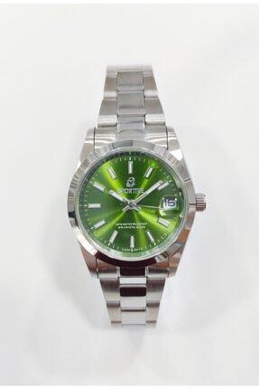 Sportive Çelik Kadın Yeşil Kol Saati