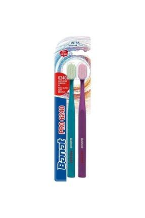 Banat Pro 6240 Adet Kıl İçeren 1+1 Ultra Yumuşak Diş Fırçası