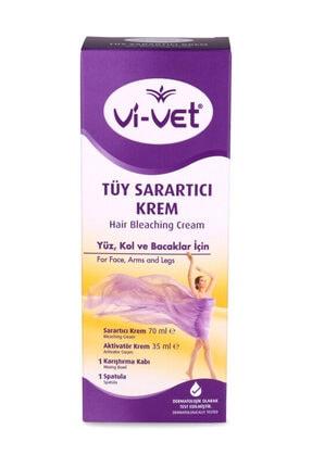 Vi-vet Vivet Tüy Sarartıcı Krem 35 ml +70 ml Paket