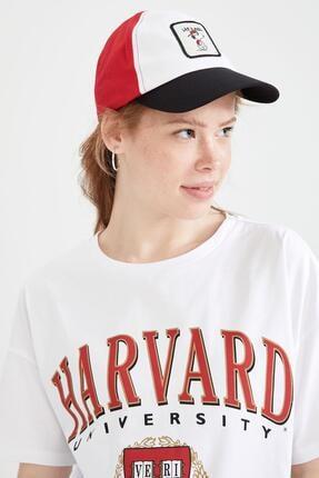 DeFacto Snoopy Lisanslı Baseball Şapka