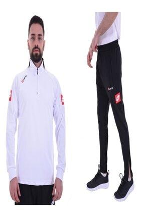Lotto R8923 Horz Antrenman Eşofman Takımı Beyaz