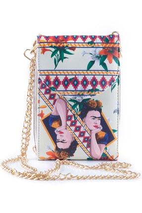 Ecrou Frida Kahlo Telefonluk Krem