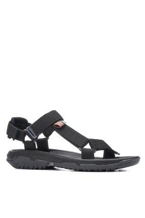 İmerShoes Erkek Günlük Step Sandalet Düz Taban Cırtlı Spor Yazlık Siyah - Bej - Gri - Yeşil
