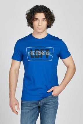 Loft Erkek T-shirt Electrıc Blue Lf2024737