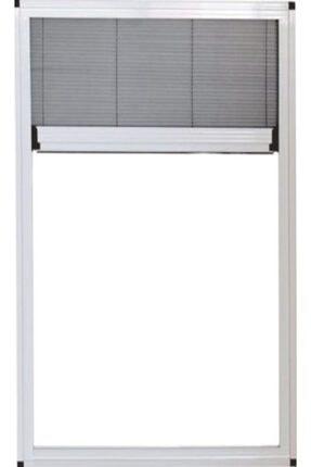 ÇAĞLAYAN İNŞAAT Pileli Plise Sürgülü Akordiyon Katlanır Küçük Pencere-vasistas Sinekliği 0-70 En, 0-70 Boy