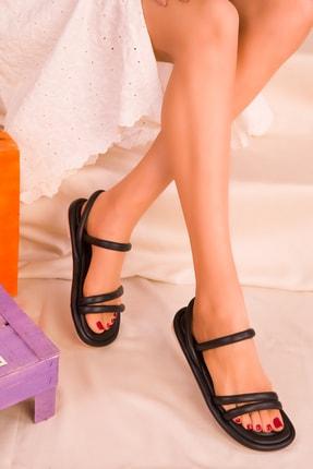SOHO Siyah Kadın Sandalet 16376
