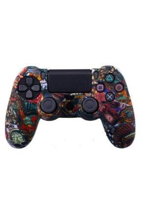 Konsol İstasyonu Desenli Playstation 4 Ps4 Kol Kılıfı - Dualshock 4 Kılıf