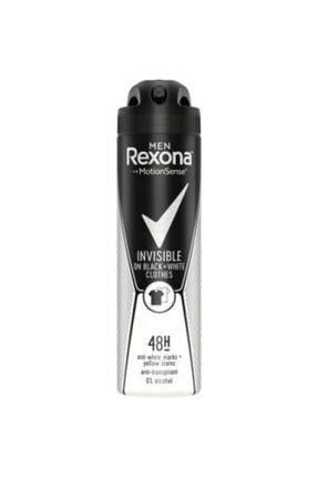 Rexona Men Invisible On Black + White Clothes Deo150 ml