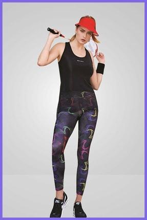 Berrak Sporcu Tayt Takım Fitness Yoga Plates Spor Taytı Ve Büstiyeri