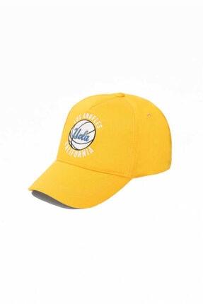 UCLA Sarı Baseball Cap Nakışlı Şapka