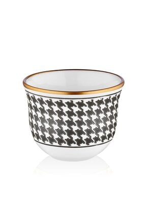 Koleksiyon1 Koleksiyon Gawa Kahve St 6 Lı Ekose Siyah Premium