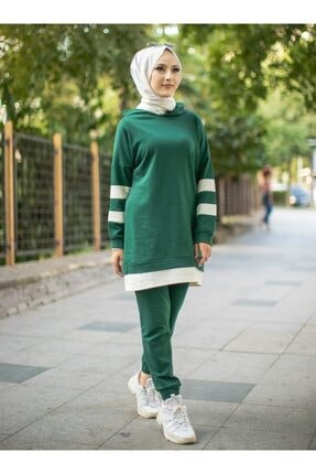 TOFİSA Ikili Eşofman Takımı - Zümrüt Yeşili -