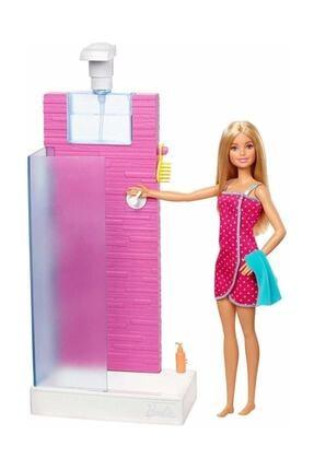Barbie Bebek Ve Oda Setleri Duş Fxg51