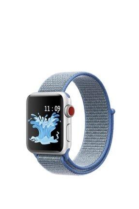 Telehome Apple Watch 2 3 4 5 6 Seri 42 Mm 44 Mm Hasır Dokuma Spor Loop Kordon